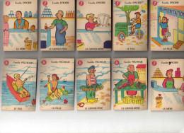 JEU Des 7 Familles METIERS Complet - Cartes à Jouer Classiques
