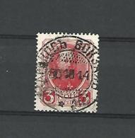 1913 NOYTA 3 KON   OBLITERE  DOS CHARNIERE  2 SCANNE - 1857-1916 Empire