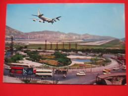 Postcard- Hong Kong-Kai Tak Airport - Aerodrome