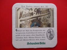 SOUS BOCKS SCHWABEN BRAU (meister Weizen) - Beer Mats