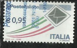 ITALIA REPUBBLICA ITALY REPUBLIC 2009 2015 POSTE ITALIANE € 0,95 USATO USED OBLITERE' - 2011-...: Gebraucht
