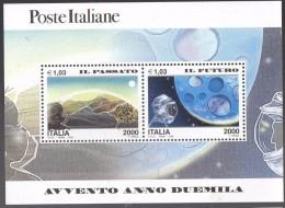 PIA - ITALIA - 2000 : Avvento Dell´ Anno 2000  - (SAS Bf  24) - 6. 1946-.. Repubblica