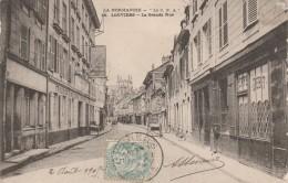 27 - LOUVIERS - La Grande Rue - Louviers