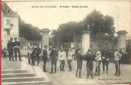 49 - Maine Et Loire - Saumur - Ecole De Cavalerie - 10 Octobre - Rentrée Du Cours - Très Très Rare - Saumur