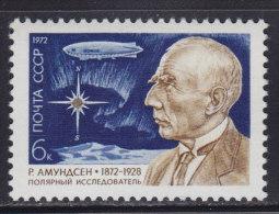 4007. Russia, USSR, 1972, Roald Amundsen, MNH (**) Michel 4026 - 1923-1991 USSR