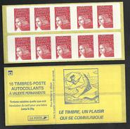 Carnet Marianne De Luquet 3419 C3  Sans Phosphore  Livraison Gratuite - Freimarke