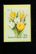 404176577 FINLAND DB  2011 POSTFRIS MINT NEVER HINGED POSTFRISCH EINWANDFREI  YVERT 2072 FLORA BLOEMEN