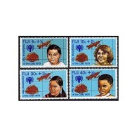 Fiji 1979 International Year Of The Child IYC Map Children Celebrations Youth Stamps MNH SC B7-B10 Michel 416-419 - Unclassified
