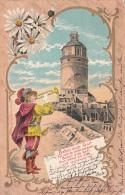 Château Litho 1899 Leipzig-Paris (Verlag Robert Becker) - Illustratori & Fotografie