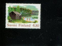 404177301 FINLAND DB  1999 POSTFRIS MINT NEVER HINGED POSTFRISCH EINWANDFREI  YVERT 1450 SAUNA