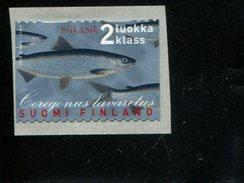 404177607 FINLAND DB 2000 POSTFRIS MINT NEVER HINGED POSTFRISCH EINWANDFREI  YVERT 1502 FAUNA FISH VIS