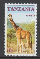 TIMBRE NEUF DE TANZANIE - GIRAFE N° Y&T 286