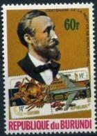 "Burundi 1979 & 1984: Michel-No. 1526 & 1643 (aus Satz Sir R.Hill + UPU) ** MNH ""H.von Stephan"" - U.P.U."