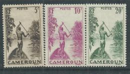 Cameroun N° 189 + 190 + 191 X  Partie De Série Courante, Les 3 Valeurs Trace De Charnière  SinonTB - Nuevos