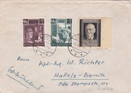 AUTRICHE 1951 LETTRE DE LEOBEN - 1945-.... 2ª República
