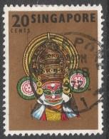 Singapore. 1968-73 Definitives. 20c Used. P14 SG 107 - Singapore (1959-...)