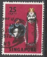 Singapore. 1968-73 Definitives. 25c Used. P14 SG 108 - Singapore (1959-...)