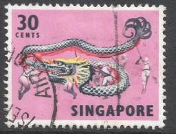 Singapore. 1968-73 Definitives. 30c Used. P14 SG 109 - Singapore (1959-...)