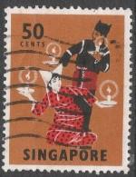 Singapore. 1968-73 Definitives. 50c Used. P14 SG 110 - Singapore (1959-...)