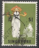 Singapore. 1968-73 Definitives. $1 Used. P14 SG 112 - Singapore (1959-...)