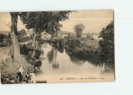 CORBEIL - Les LAVANDIERES Sur L' Essonne - 2 Scans - Corbeil Essonnes