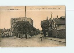CORBEIL - Avenue Darblay Et Rue Des Grandes Bordes -  2 Scans - Corbeil Essonnes