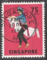 Singapore. 1968-73 Definitives. 75c Used. SG 111 - Singapore (1959-...)