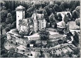POLMINHAC .15. Chateau De Pesteils . Vue Aerienne  .voir Photo. - Frankrijk