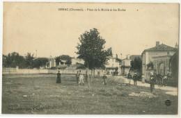 16 - GENAC - PLACE DE LA MAIRIE ET DES ECOLES - Unclassified