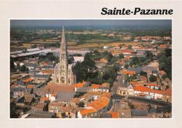 ¤¤  -      SAINTE-PAZANNE   -   Le Centre Du Bourg  -  Place De Retz Et L´Eglise Néo-Gothique  -  ¤¤ - Sin Clasificación