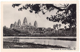 Cpsm Cambodge - Angkor-Vat - Façade 2e étage - Cambodge