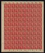 SBZ-Bogen ,Nr.5A,Type CIV,xx  (M4) - Sowjetische Zone (SBZ)