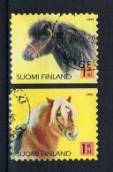 Finnland 2005 Pferde Mi.Nr. 1751/54 Gestempelt