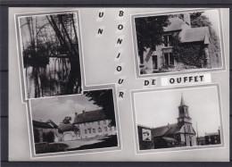 UN BONJOUR DE OUFFET Carte 4 Vues - Ouffet