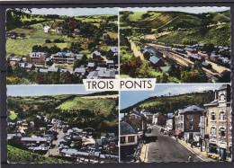 TROIS PONT  Carte 4 Vues - Trois-Ponts