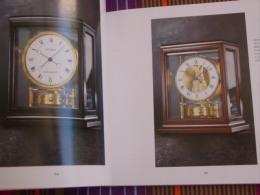 """Horlogerie / Catalogue Illustré''JAEGER-LeCOULTRE ''-Pendules,pendulettes ATMOS ,""""Élysée"""",""""Beaubourg"""",""""Vendôme"""",""""Opéra"""". - Libri, Riviste, Fumetti"""