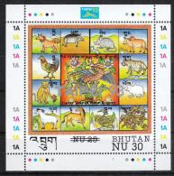 Bhutan 1993**, Internationale Briefmarkenausstellung TAIPEI '93 / Bhutan 1993, MNH, Int. Stamp Exh. TAIPEI '93 - Bhoutan