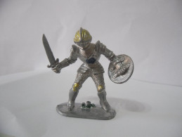 SOLDATINO  MEDIOEVALE-CROCIATO-MADE IN W.GERMANY-VINTAGE. - Figurines