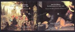 Antigua And Barbuda 2000, Yvert BF 470- 471 - Spanish Prado Art Museum - Miniature Sheet - MNH - Antigua Et Barbuda (1981-...)