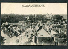 CPA - CHATILLON SUR SEINE - Vue Générale - St Vorles Et Tour De Gissey - Chatillon Sur Seine