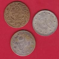 Turquie - Ensemble 3 Monnaies Anciennes Différentes - Turquia