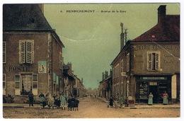 HENRICHEMONT  Avenue De La Gare.  ETAT - Henrichemont