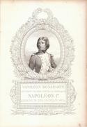 1839 - Gravure Sur Acier - Napoléon Ier (Ajaccio 1769 - Sainte-Hélène 1821) - FRANCO DE PORT - Stiche & Gravuren