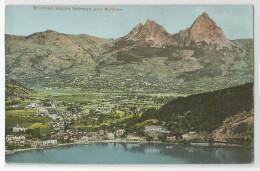 Suisse - Ur Uri - Brunnen Gegen Schwyz Und Mythen Ed Kunzli Tobler Zurich - UR Uri