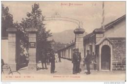 88 SAINT DIE VOSGES  CASERNE CHERIN 10é BATAILLON CHASSEURS CPA BON ÉTAT - Saint Die