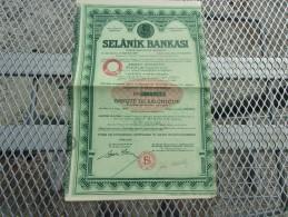 BANQUE DE SALONIQUE (selanik Bankasi) - Shareholdings