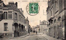 8448. CPA 14 LISIEUX. LA RUE D'ALENCON. - Lisieux