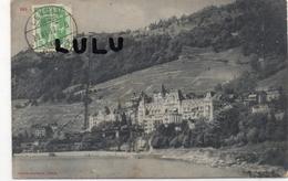 SUISSE ; 2 Scans : ??? Cachet Leysin Village - VD Vaud