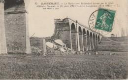 68 Dannemarie Le Viaduc Vers Ballendorf Détruit Par Le Génie Militaire Français Le 26 Aout 1914 - Dannemarie