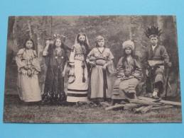 Gebuurte VOORMUIDE Kinderstoet - De Nationale Klederdrachten ( AFRIKA / AFRIQUE ) 1912 ( Zie Foto´s Voor Detail ) - Cartes Postales